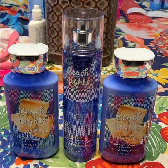 bath and body works Other - Beach Nights Set